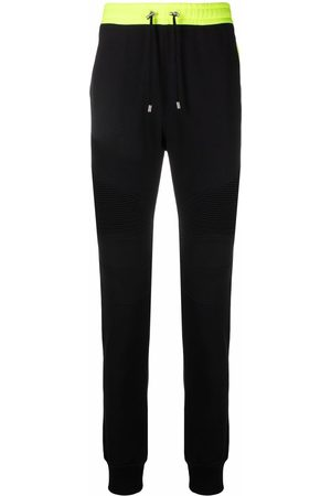 Balmain Herren Jogginghosen - X Rossignol logo-print track pants
