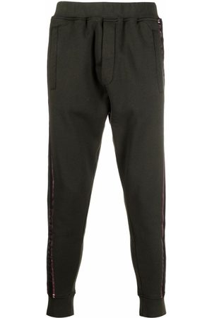 Dsquared2 Logo-tape tapered track pants