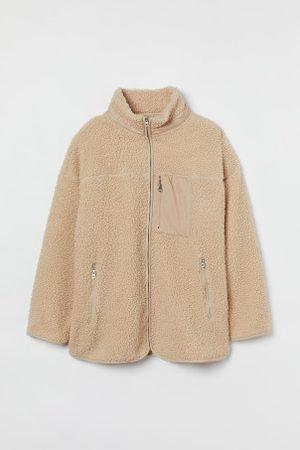 H&M + Jacke aus Lammfellimitat