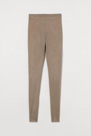 H&M Leggings aus Merinowolle