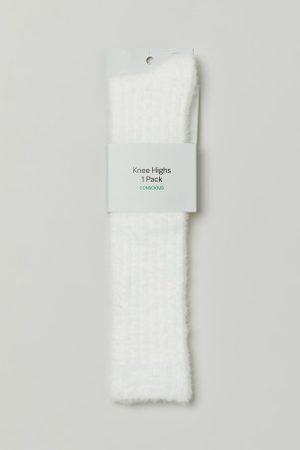 H&M Flauschige Kniesocken