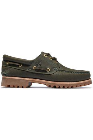 Timberland Authentische ® 3-ösen-bootsschuhe Für Herren In Dunkelgrün Dunkelgrün, Größe 40
