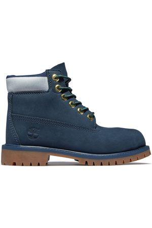 Timberland ® Premium 6-inch-stiefel Für Kinder In Navyblau Navyblau, Größe 33