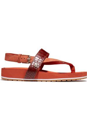 Timberland Malibu Waves Sandale Für Damen Mit Kroko-print