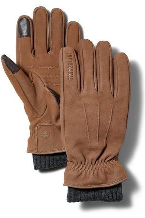 Timberland Herren Handschuhe - Lederhandschuhe Mit Strickbündchen Für Herren In