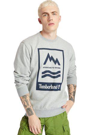 Timberland Mountain-to-river Sweatshirt Für Herren Mit Grafik In
