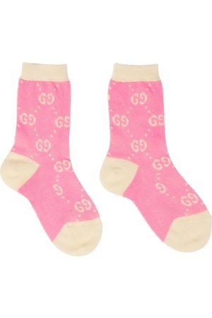 Gucci Baby Socken GG aus Strick