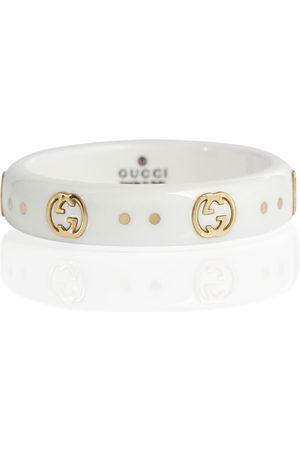 Gucci Ring Icon mit 18kt Gelbgold
