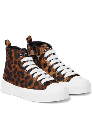 Dolce & Gabbana High-Top Sneakers aus Canvas