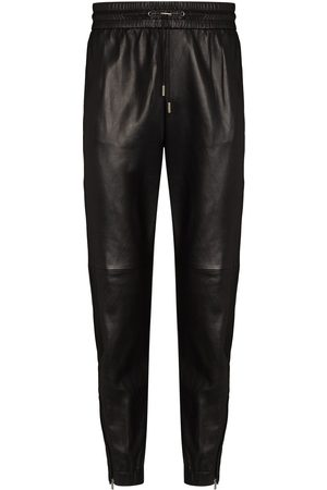 Saint Laurent Zipped ankles tapered track pants