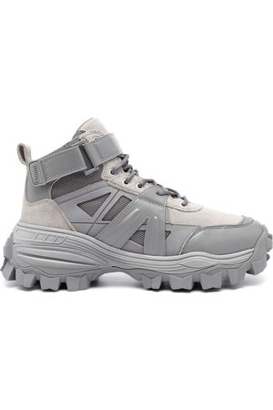 JUUN.J Ridged-sole high-top trainers