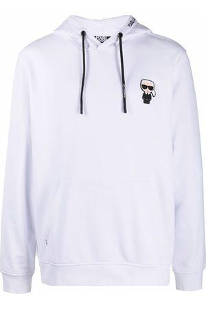 Karl Lagerfeld Ikonik Karl logo hoodie