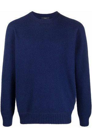 FAY Herren Sweatshirts - Crewneck wool jumpr
