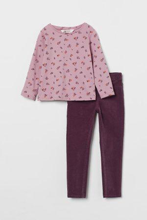 H&M Kinder 2-teiliges Baumwollset