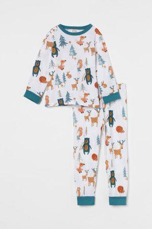 H&M Pyjama mit Umschlagbündchen