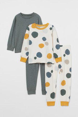 H&M Kinder Schlafanzüge - 2er-Pack Baumwollschlafanzüge