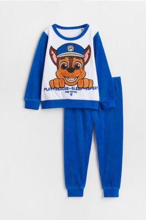 H&M Kinder Schlafanzüge - Pyjama aus Velours