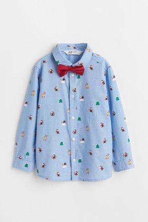 H&M Kinder Krawatten - Hemd und Krawatte/Fliege