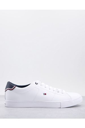 Tommy Hilfiger Essential leather trainers in white