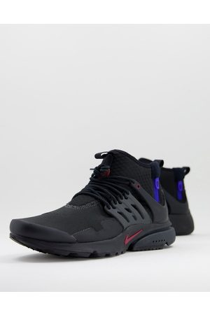 Nike Air Presto Mid Utility trainers in black