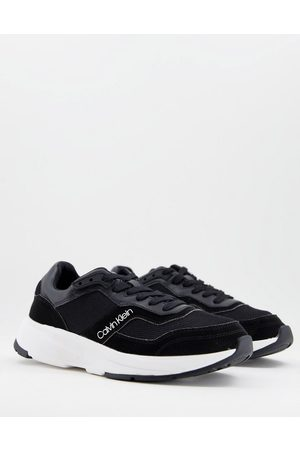 Calvin Klein Low top trainers with chunky sole in black