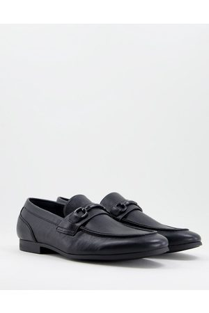 Call it Spring Vegan gent bar loafers in black