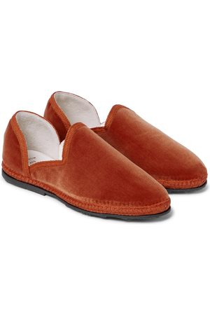 The Row Kids Loafers Friulane aus Samt