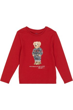 Ralph Lauren Longsleeve Polo Bear aus Baumwolle