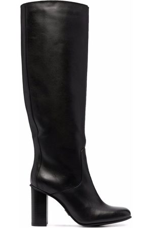 Tommy Hilfiger High-heel spare-toe boots