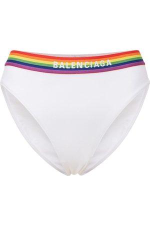 Balenciaga Stretch Cotton Jersey Sport Briefs